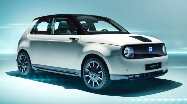 Honda e 虽然外表可爱娇小,但功能以及性能却非常棒!