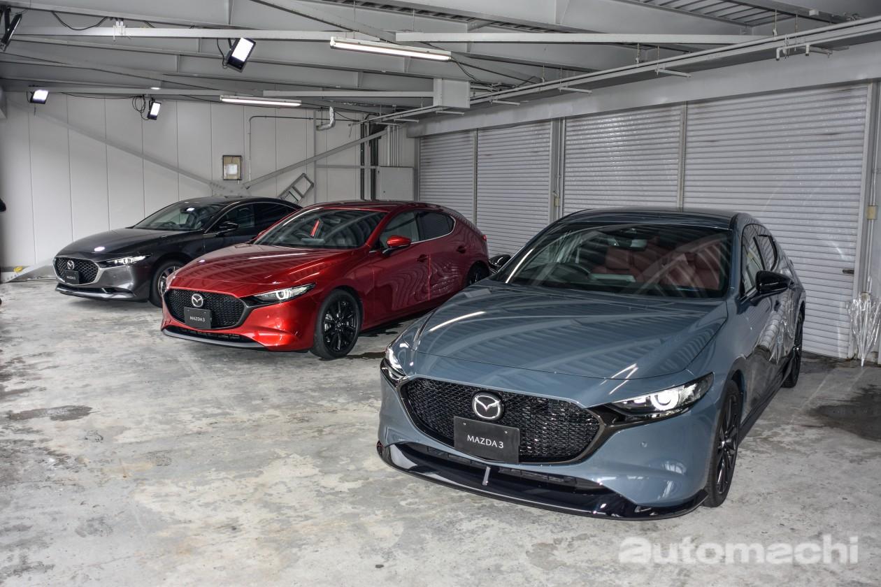 2019 Mazda3 公开接受预订!5种车型2种引擎!