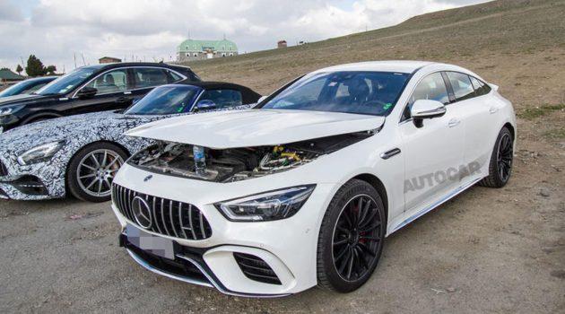 Mercedes-AMG GT 73 现身测试,料2020年登场!