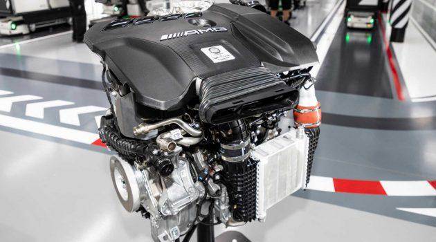 Mercedes-AMG 史上最强 2.0L 四缸引擎细节出炉!