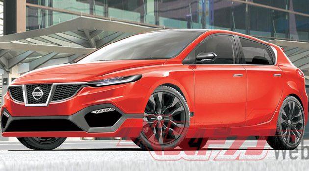 与 X-Trail 共享底盘, Nissan Latio 化身运动掀背!