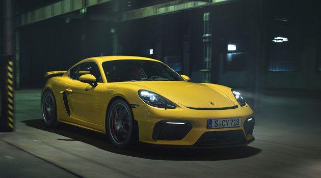 Porsche 718 Spyder 与 718 Cayman GT4 正式登场!