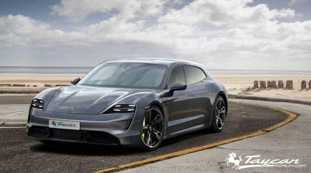 Porsche Taycan 预告释出,来自德国的特斯拉杀手!