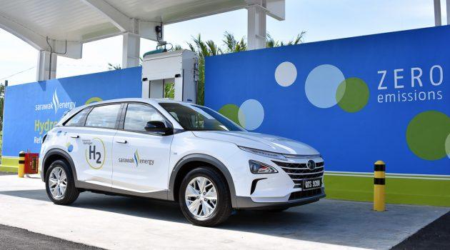 推动氢气燃料,砂拉越能源购入 Hyundai Nexo !