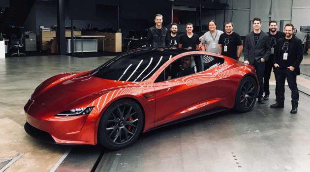 Tesla Roadster 年产量限定10,000台!0-100只需要2.1秒!
