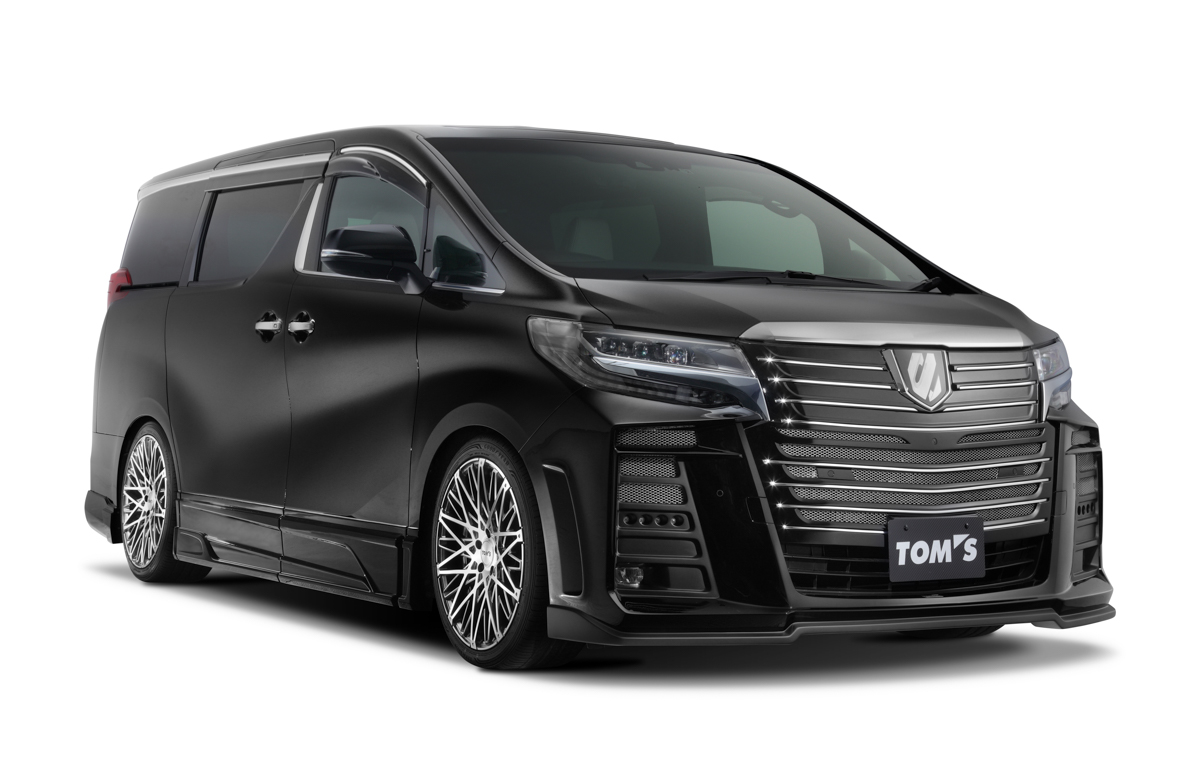全球1辆! Toyota Alphard Tom's Edition 现身我国!