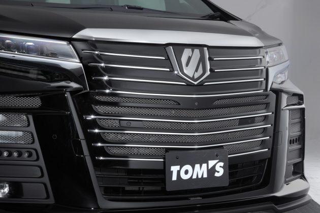 全球1辆! Toyota Alphard Tom's Edition 现身我国!