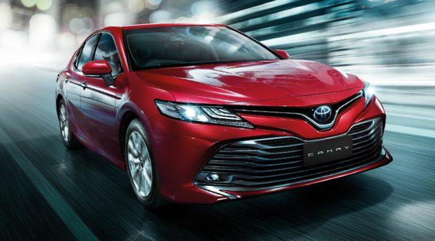 Toyota Camry XV70 价格调涨,售价 RM 196,888 !