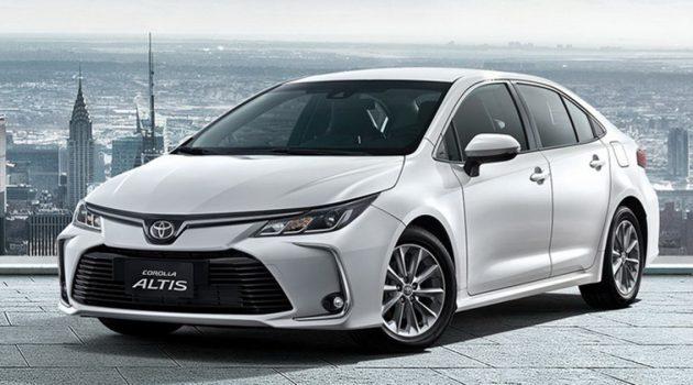 Toyota Corolla Altis 八月登陆泰国,我国料今年上市!