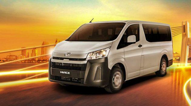 2019 Toyota Hiace 泰国开售,售价RM 13万起跳!
