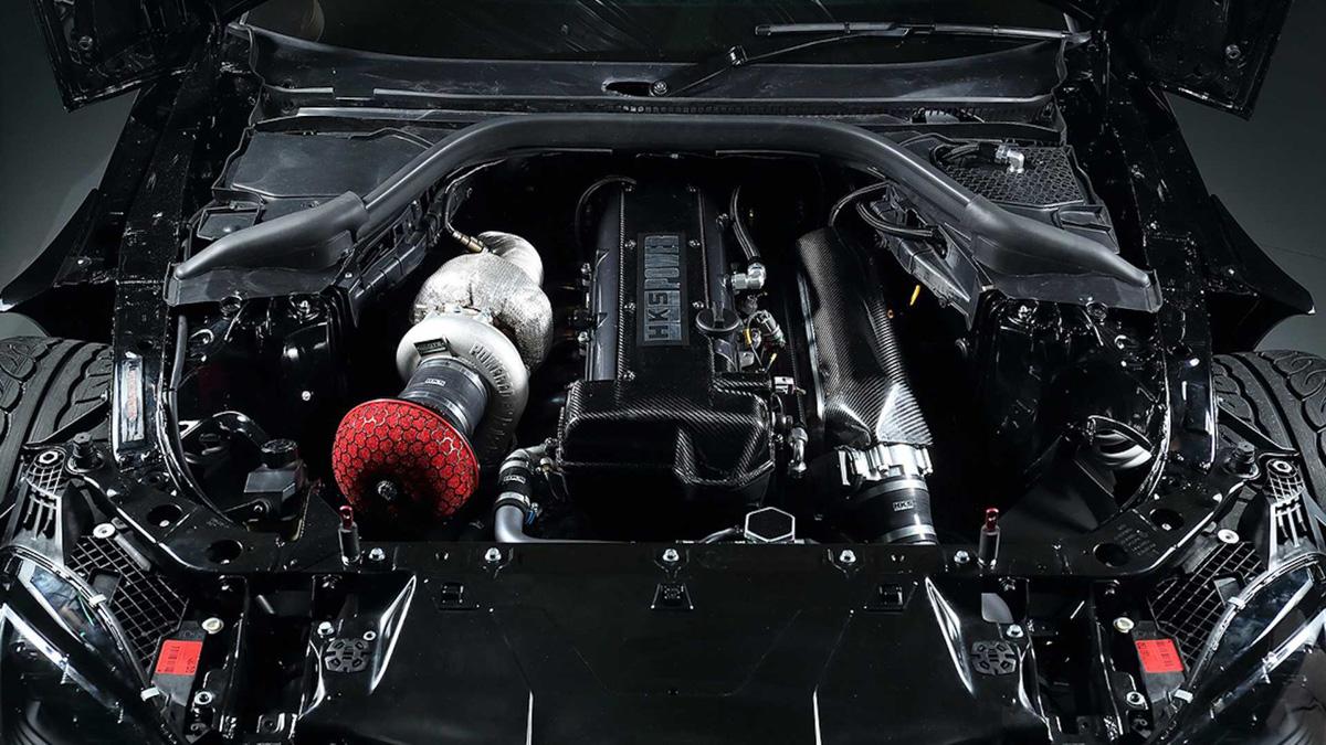 690 hp漂移战车, HKS Toyota Supra A90 正式出炉!