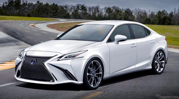 Lexus IS 大改款长这样?性能版也已经确定!