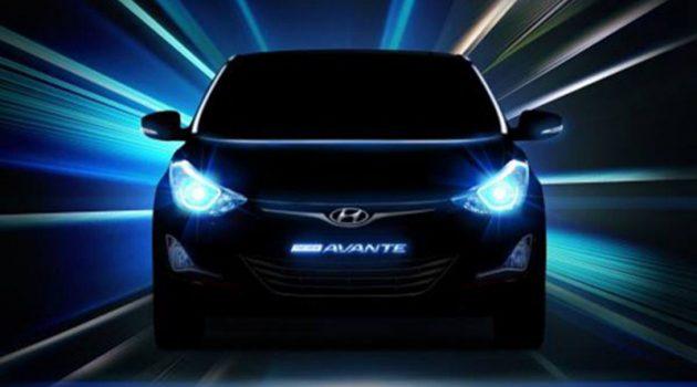 Hyundai Elantra 大改款现身!最快洛杉矶车展全球首发!
