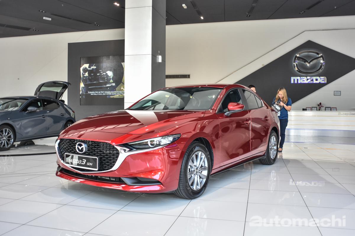 图库: 2019 Mazda3 我国版现身,售价从RM 139,770起跳!