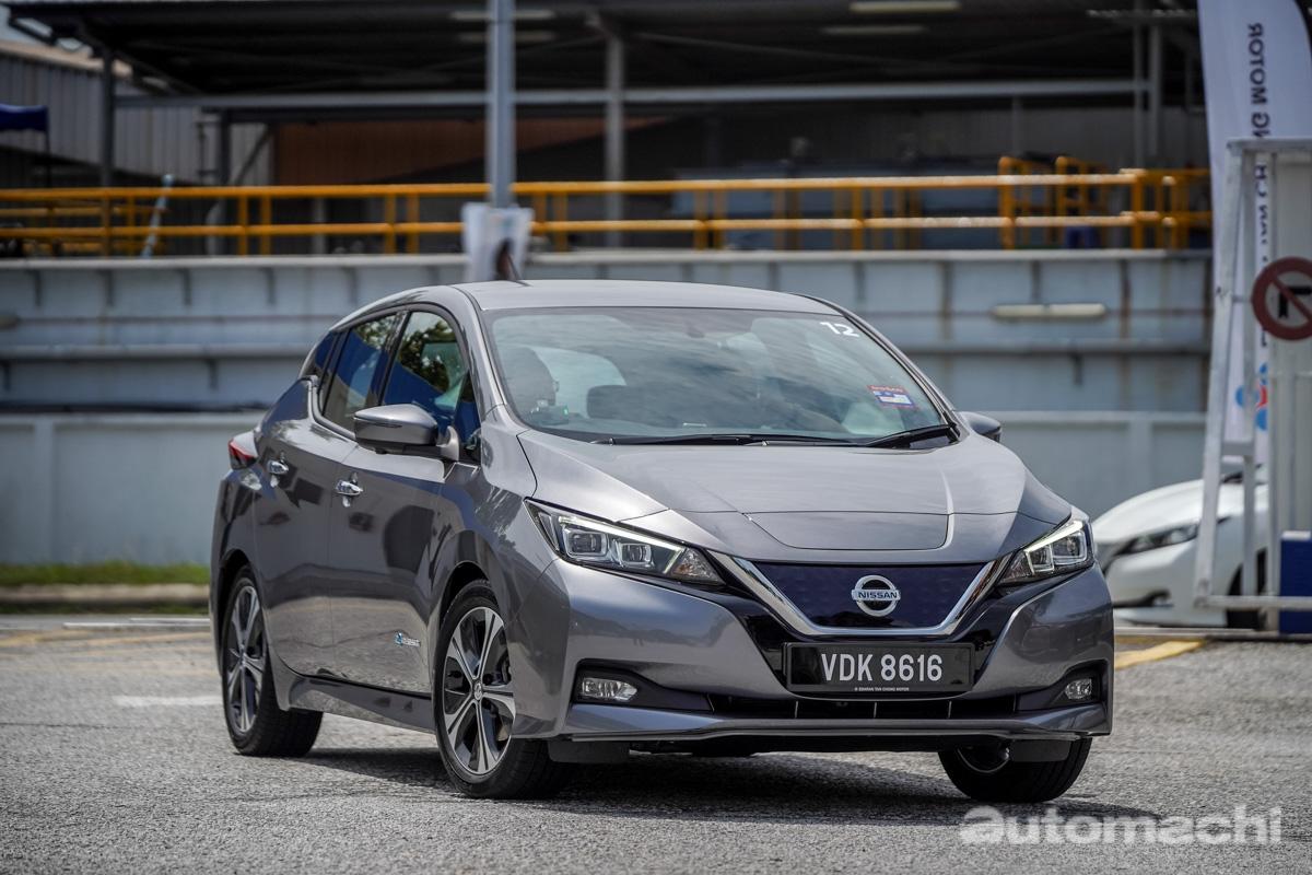 Nissan Leaf 初体验,成熟的电动汽车!