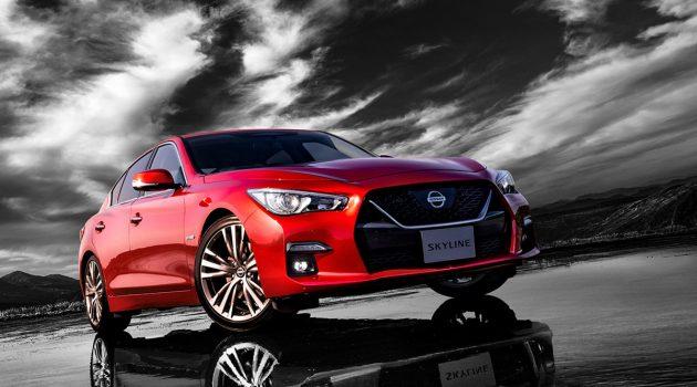 植入 GT-R 前脸,小改款 2019 Nissan Skyline 登场!