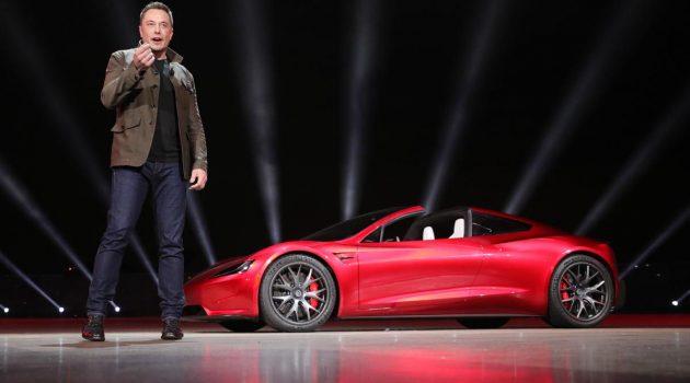 Tesla Roadster 2 为什么跑那么快,原因就是采用了 Space X 火箭技术!
