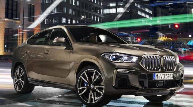 BMW X6 G06 官方图曝光,新设计风格颜值高!