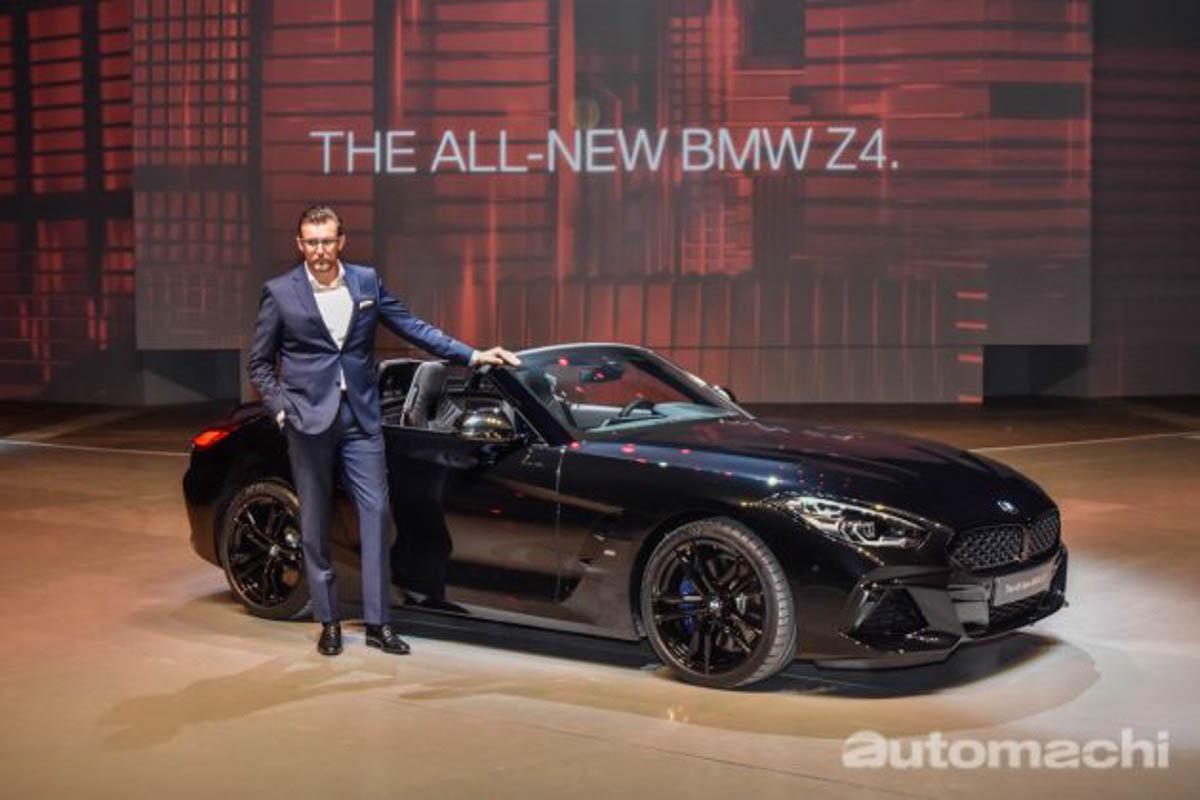 2019 BMW Z4 sDrive30i M Sport 正式在我国发布,售价 RM479,800!