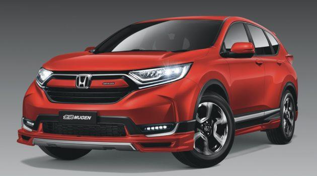 Honda CR-V Mugen Limited Edition 登场,限量300辆!
