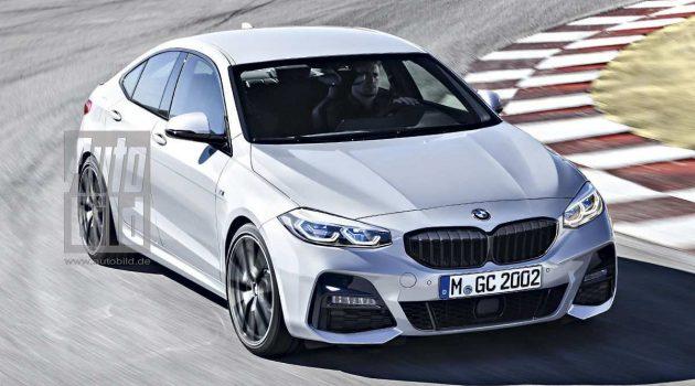 CLA 杀手, BMW 2 Series Gran Coupe 长这样!