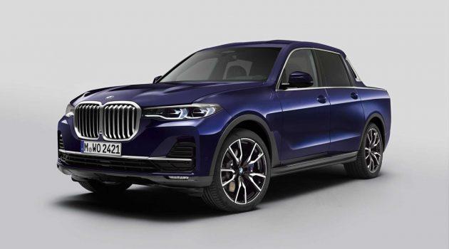 皮卡也能很豪华! BMW X7 概念皮卡登场!