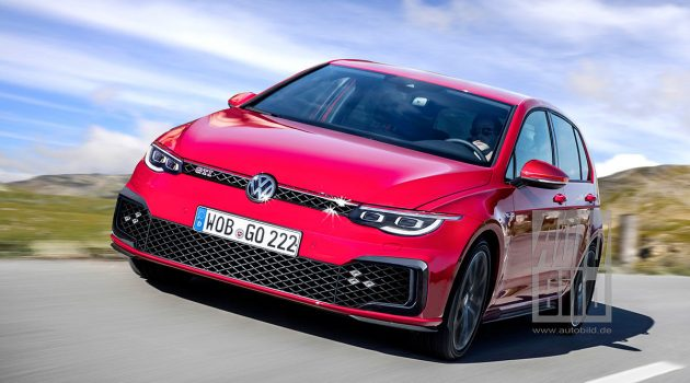 钢炮王现身, Volkswagen Golf GTI MK8 首度曝光!