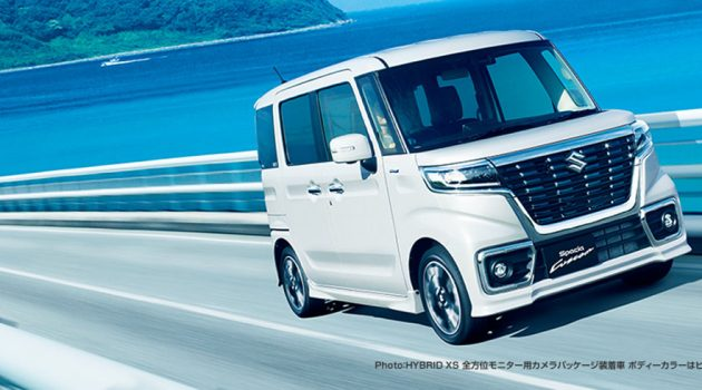 Suzuki Spacia Custom ,超迷你版的 Alphard !