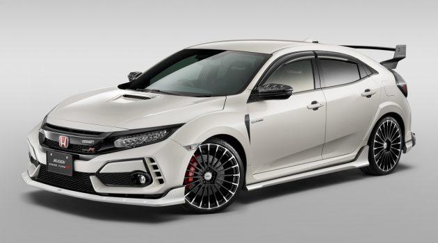 Honda Civic Type R FK8 Mugen 空力套件正式登场!