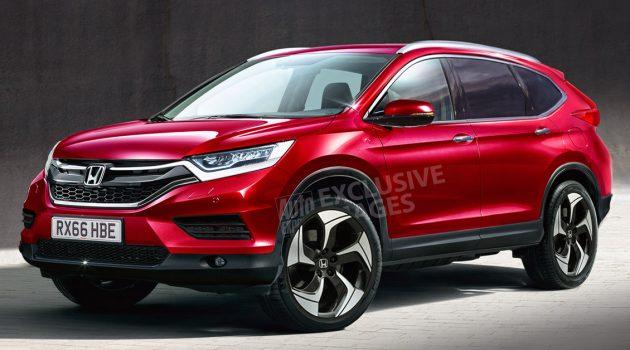 测试车首次曝光! Honda CR-V 小改款车型即将来临?