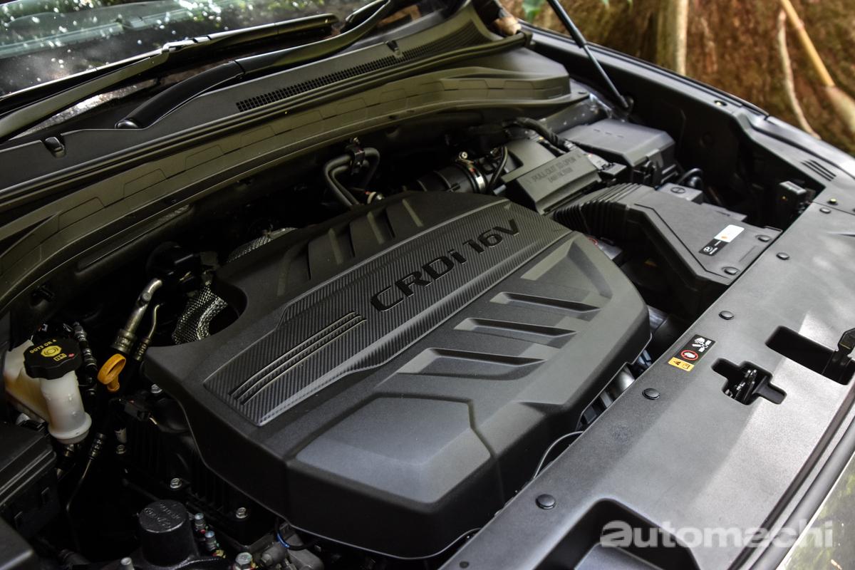 2019 Hyundai Santa Fe ,柴油引擎比较好!