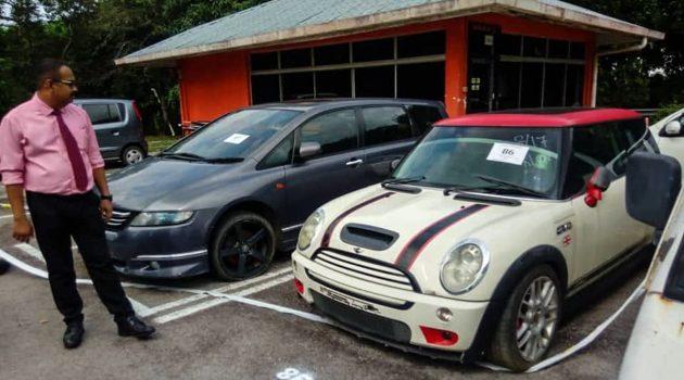 马六甲 JPJ 下月举办 Car Auction ,最低标价RM 400起!