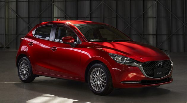 导入最新家族前脸,小改款 Mazda2 正式发表!