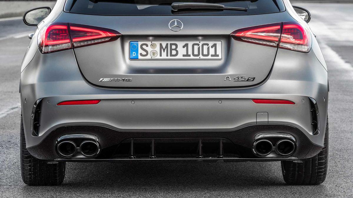 Mercedes-AMG A45 S 正式登场!最大马力416 Hp!