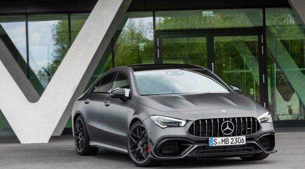 Mercedes-AMG A45 S / CLA 45 S 预告登场,7月4日发表!