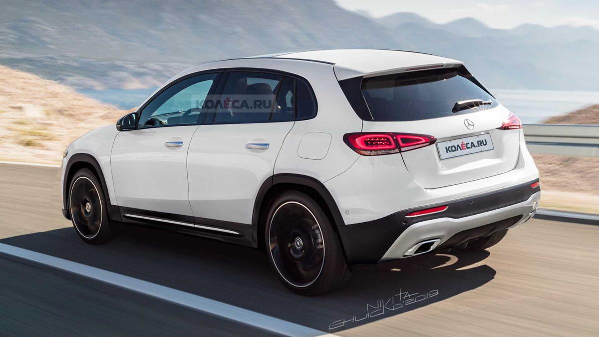 今年正式发表,新一代 Mercedes-Benz GLA 长这样?
