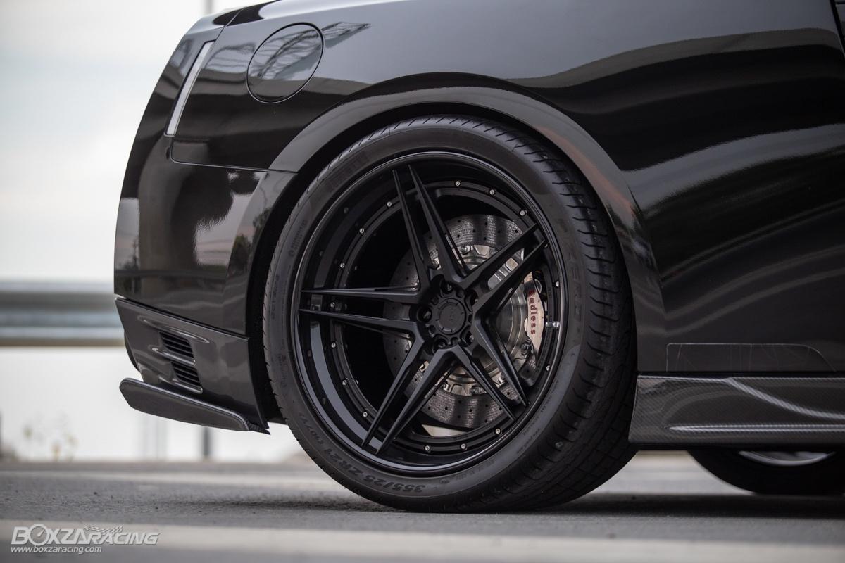 泰强大!900 hp 的 Top Secret Nissan GT-R !