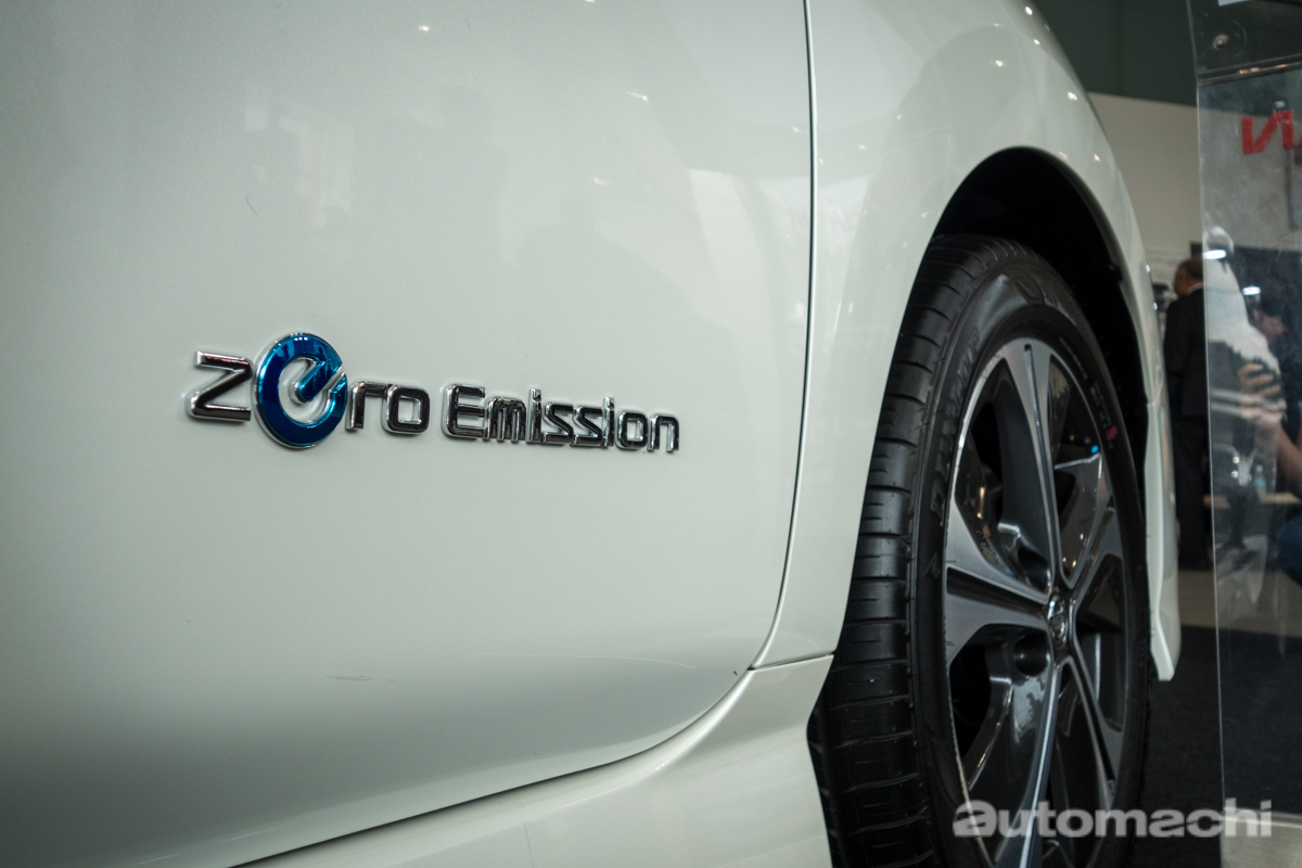 新一代 Nissan Leaf 登陆我国,售价 RM 188,888!
