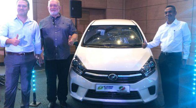 Perodua Axia 进军非洲塞舌尔,售价RM 71,500起跳!