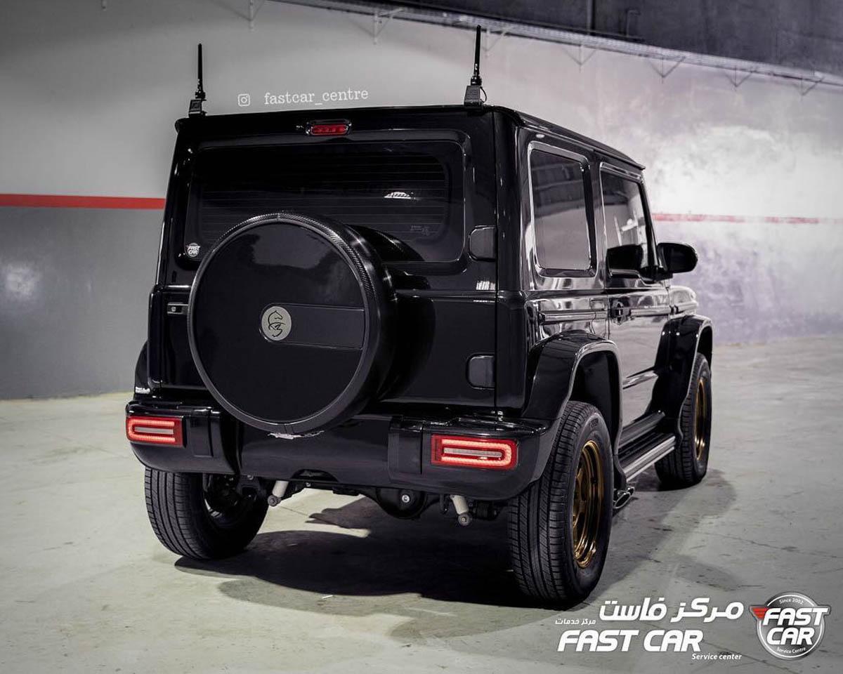 为 Suzuki Jimny 量身定做的空力套件,和 G 63 的外观几乎一样了!