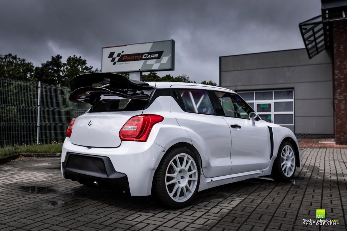 雨燕身芦笋心, Suzuki Swift 移植 EVO X 引擎!
