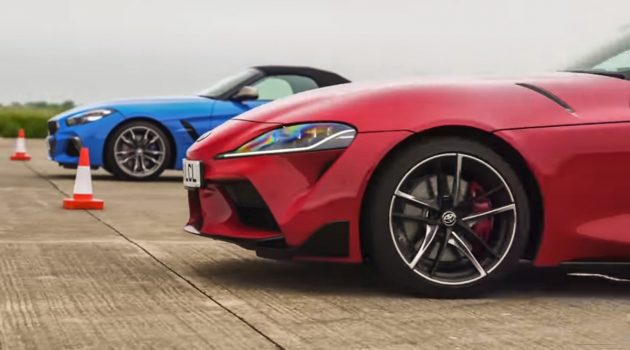 兄弟大战! Toyota Supra 直线对决 BMW Z4 !