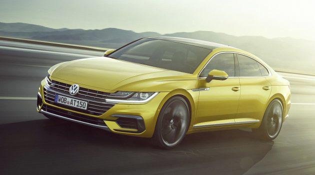 Volkswagen Arteon 公开接受预订:RM 29万至31万!