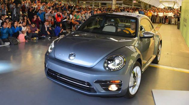 向甲虫道别! Volkswagen Beetle 正式停产!