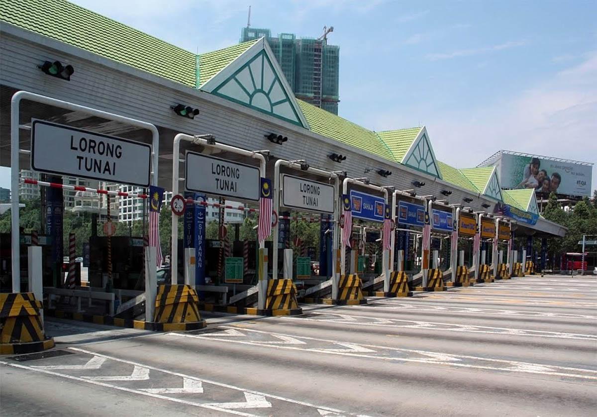 南北大道 Plus 收费站正在升级,未来可直接使用信用卡扣除过路费!