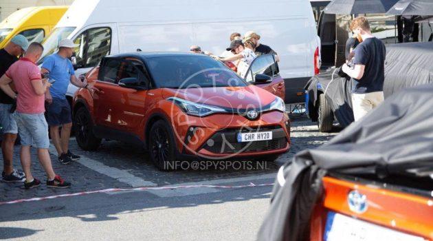 小改款 Toyota C-HR 照片流出,改款后更加炫酷。