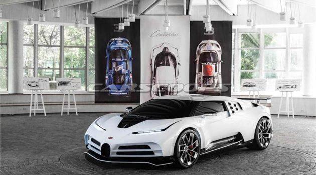 Bugatti Centodieci 超跑问世,最高时速420 KM/H