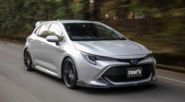 Tom's Toyota Corolla Sport 动感登场,有在帅气哦!