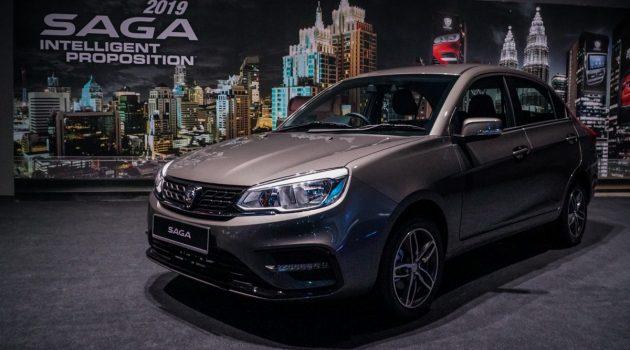 2019 Proton Saga 正式发布!售价由 RM 32,800 起跳!