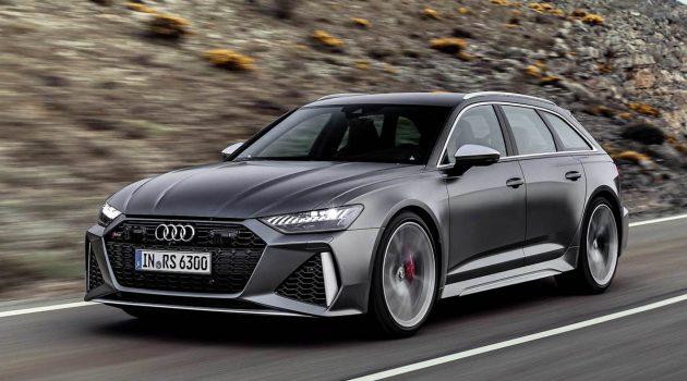 2020 Audi RS6 Avant 正式发表,592 Hp/800 Nm